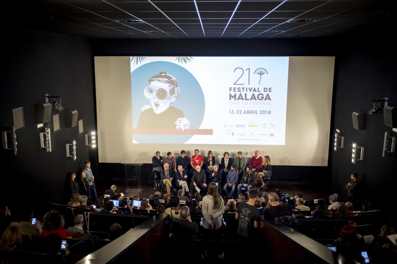 Foto: Festival de Málaga presenta los contenidos de su  21 edición, del 13 al 22 de abril de 2018